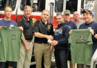VSFD Engine 2 Donates to Wounded Warriors