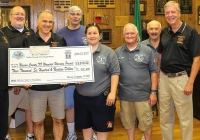 Valley Stream Rescue Makes Donation